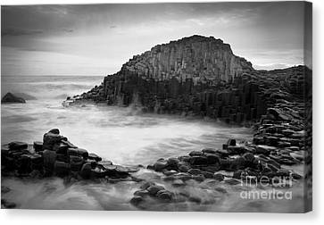 The Giant's Cove Canvas Print by Inge Johnsson