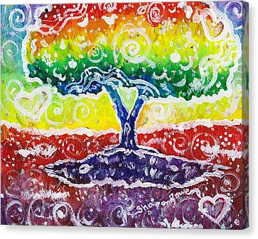 The Giving Tree Canvas Print by Shana Rowe Jackson