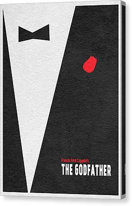 The Godfather Canvas Print by Ayse Deniz