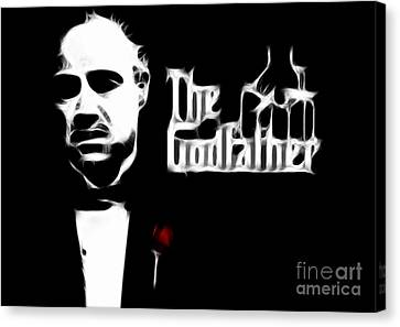 The Godfather Canvas Print by Doc Braham