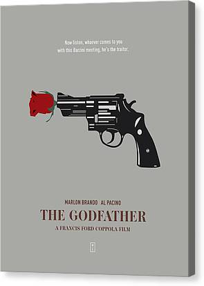 The Godfather Canvas Print by Smile In The  Mind