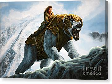 The Golden Compass  Canvas Print by Paul Meijering