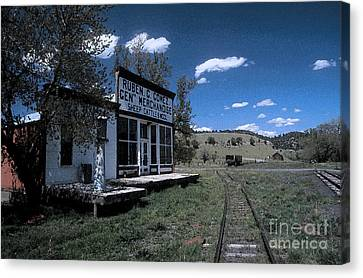 The Gomez General Store Canvas Print by Jerry McElroy
