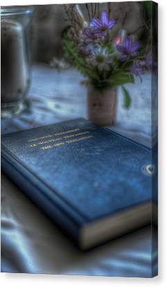 The Good Book Canvas Print by Nathan Wright