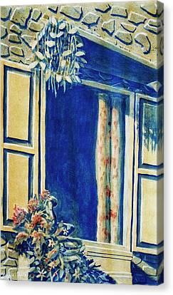 The Good Morning Window Canvas Print by Adhijit Bhakta