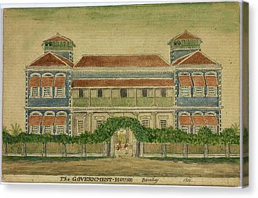 The Government House Canvas Print by British Library