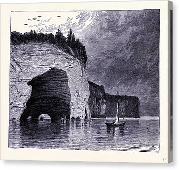 The Grand Portal United States Of America Canvas Print by American School