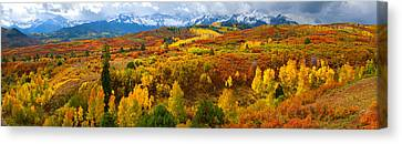 The Great Dallas Divide Canvas Print by John Hoffman