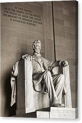 The Great Emancipator Canvas Print by Olivier Le Queinec