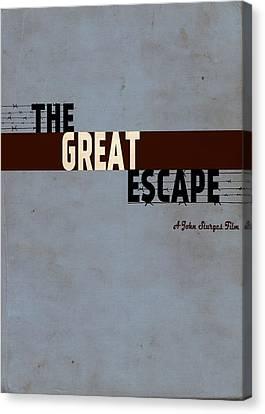 The Great Escape Canvas Print by Ayse Deniz