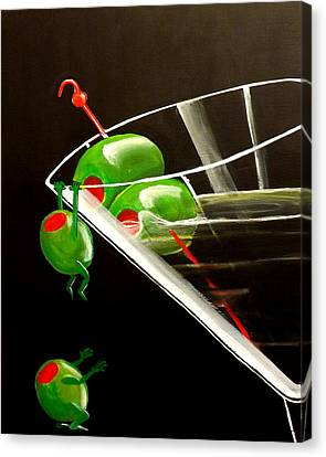 The Great Escape Canvas Print by Darren Robinson