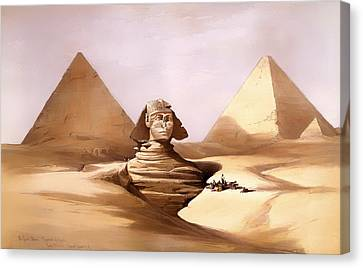 The Great Sphinx Canvas Print by Mountain Dreams