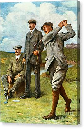 The Great Triumvirate Canvas Print by Clement Flower