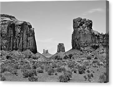 The Great West Canvas Print by Gregory Ballos