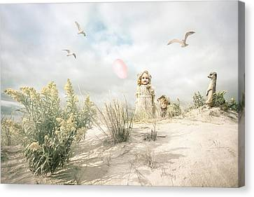 The Greeting Party - Fantasy Art Canvas Print by Gary Heller