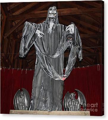 The Grim Reaper Canvas Print by John Telfer