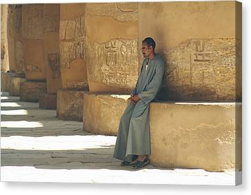 The Guardian .. Canvas Print by A Rey