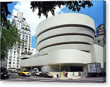 The Guggenheim Canvas Print by Allen Beatty