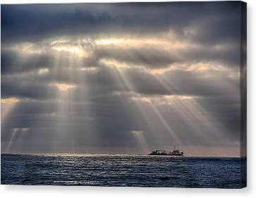 The Guiding Light Canvas Print by Peter Tellone
