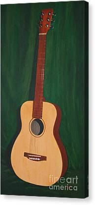 The Guitar  Canvas Print by Jimmie Bartlett