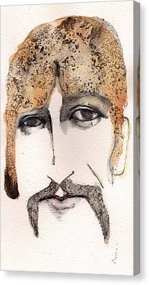 The Guru As George Harrison  Canvas Print by Mark M  Mellon