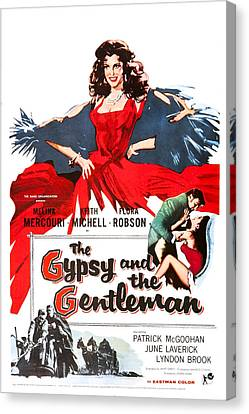 The Gypsy And The Gentleman, Us Poster Canvas Print by Everett