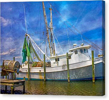 The Harbor II Canvas Print by Betsy Knapp