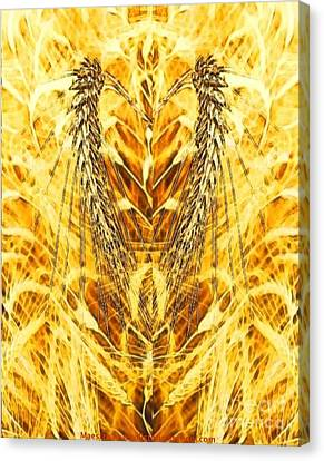 The Harvest Is Plentiful The Laborers Are Few Canvas Print by PainterArtist FIN