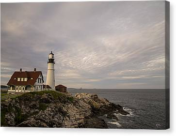 The Head Light Canvas Print by Karol Livote