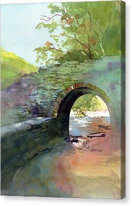 The Headgate Canvas Print by Kris Parins