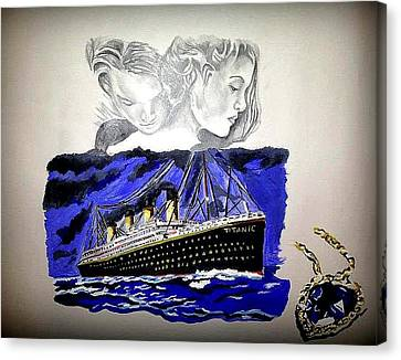 The Heart Of The Sea Canvas Print by Pauline Murphy