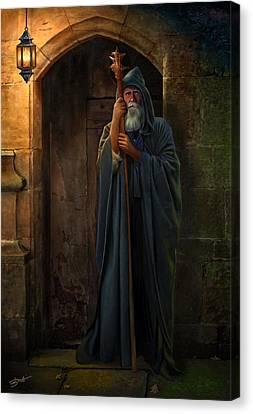 The Hermit Canvas Print by Bob Nolin