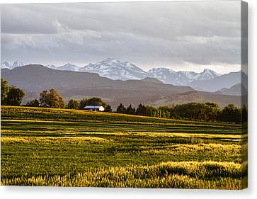 The Hills Are Alive Canvas Print by James BO  Insogna