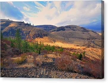 The Hills Canvas Print by Gary Silverstein