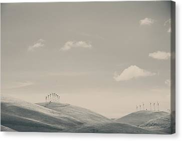 The Hills Canvas Print by Laurie Search