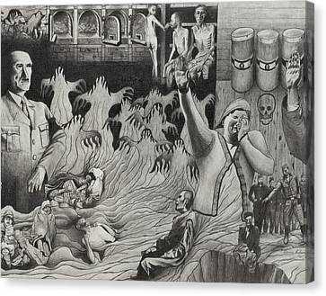 The Holocaust Canvas Print by Dennis Nadeau