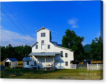 The Homan Mill Canvas Print by Teena Bowers