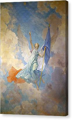 The Hope Canvas Print by Diogene Ulyssee Napoleon Maillart