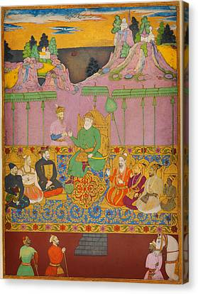 The House Of Bijapur Canvas Print by Celestial Images