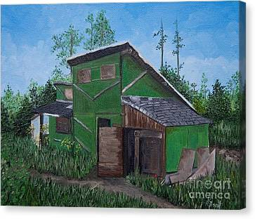 The House That Hans Built Canvas Print by Reb Frost
