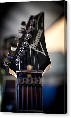 The Ibanez Guitar Canvas Print by David Patterson
