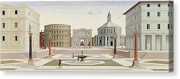 The Ideal City Canvas Print by Fra Carnevale