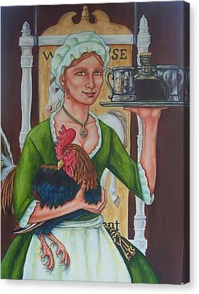 The Innkeeper Canvas Print by Beth Clark-McDonal