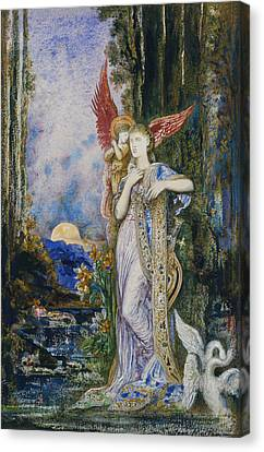 The Inspiration  Canvas Print by Gustave Moreau