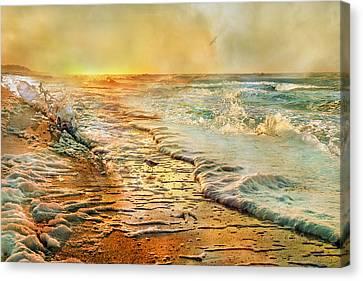 The Inspirational Sunrise Canvas Print by Betsy Knapp