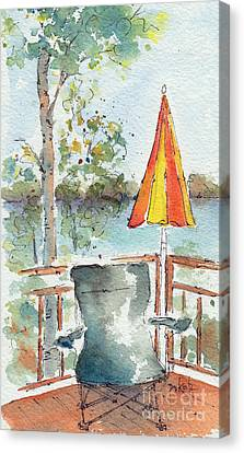 The Invitation - Cropped Canvas Print by Pat Katz