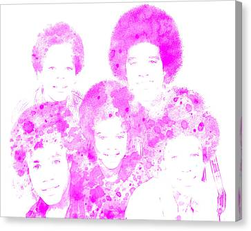 The Jackson 5 Canvas Print by Brian Reaves