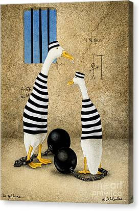 The Jailbirds... Canvas Print by Will Bullas