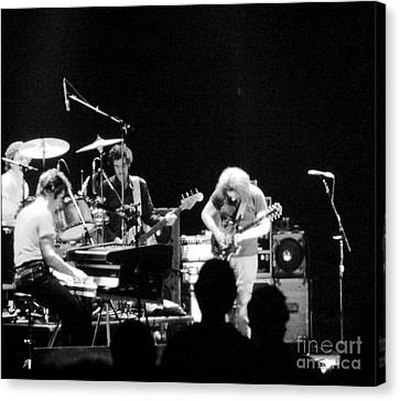 The Jerry Garcia Band Canvas Print by Susan Carella