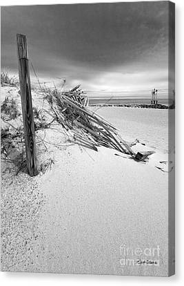 The Jetty Canvas Print by Michelle Wiarda
